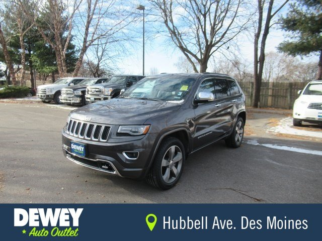 Jeep Grand Cherokee Overland >> 2014 Jeep Grand Cherokee Overland With Navigation 4wd